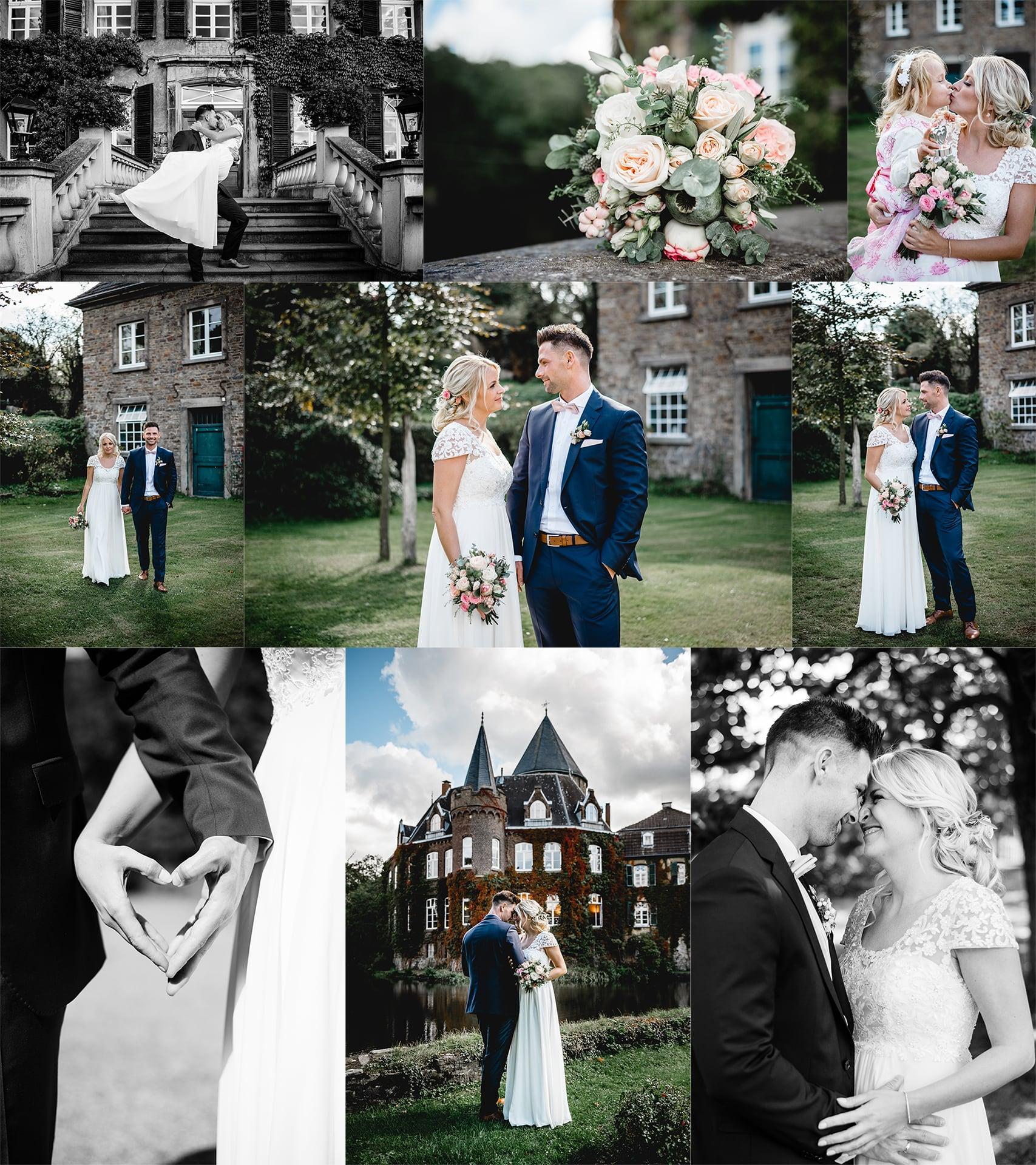 Hochzeitsfotos vom Schloss Linnep 02