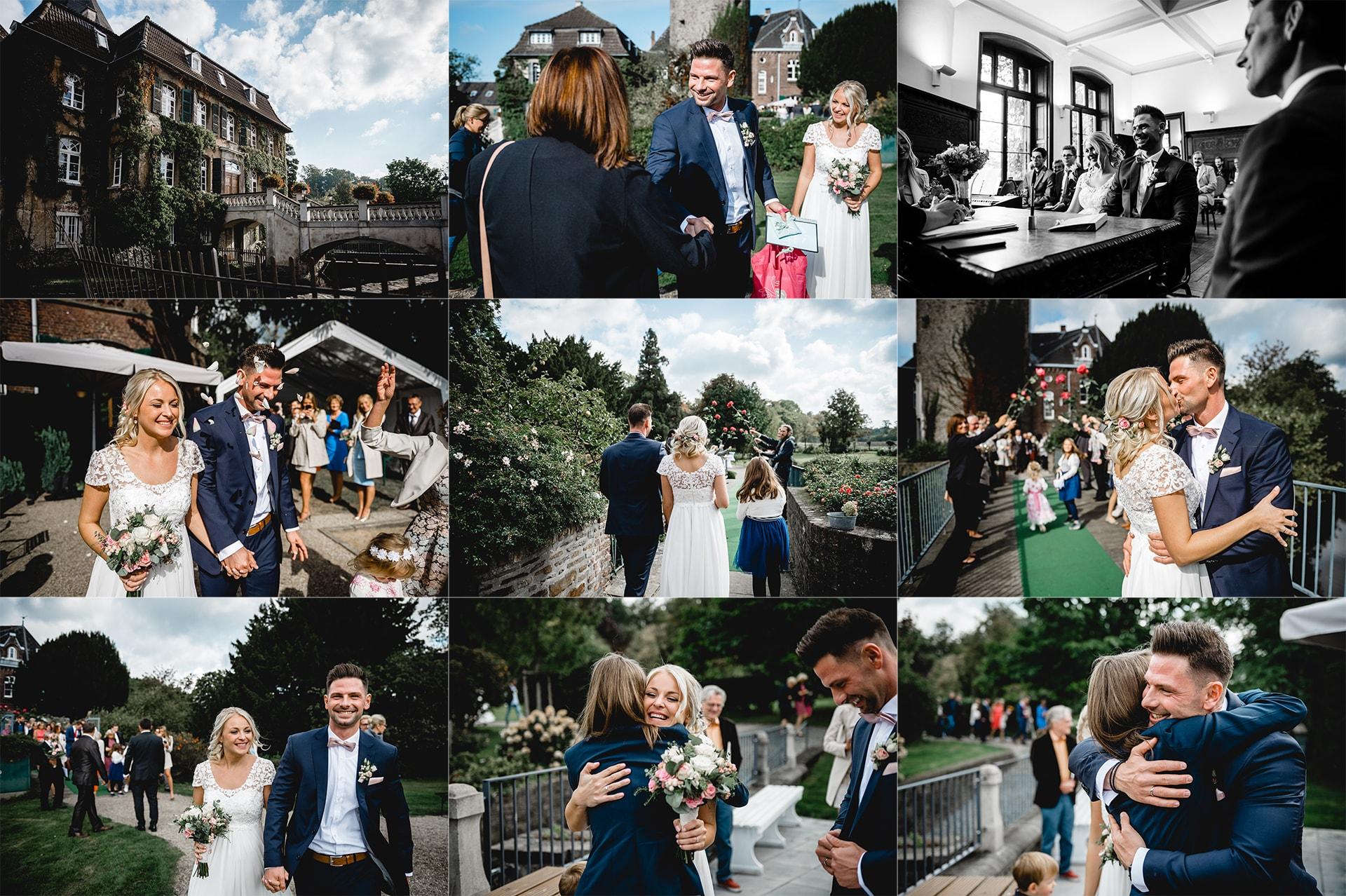 Hochzeitsfotos Schloss Linnep 01